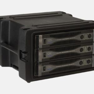 SKB Roto Rolling Rack Case – 6U